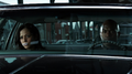 Renee Montoya and Crispus Allen sitting in the car waiting for Oswald Cobblepot.png
