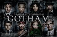 Gotham comic-con poster