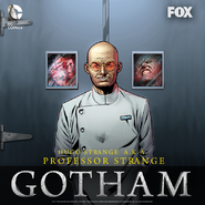 Hugo Strange season 2 promotional artwork