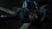 Odgen Barker's dead body after being shot by Gordon