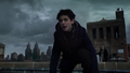 Bruce landing after escaping the crook who was pursuing him.png