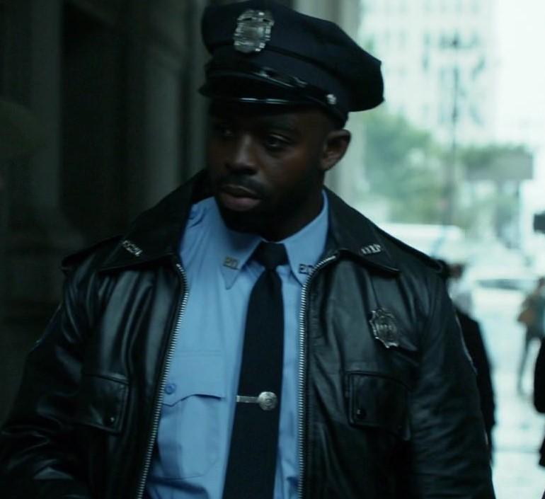 Gotham police jacket
