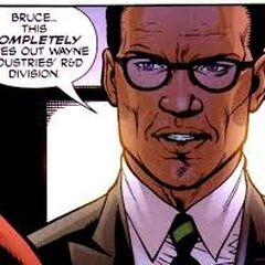 Lucius Fox dans les comics