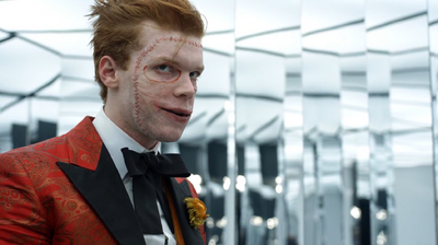 Jerome Valeska in the hall of mirrors