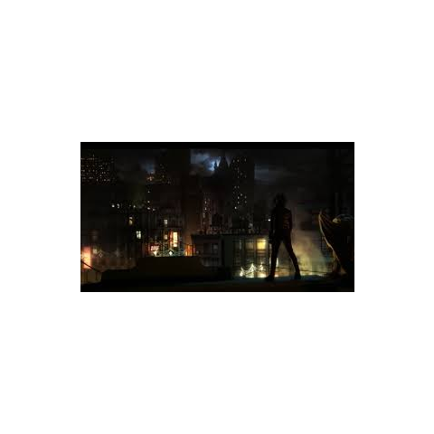 Selina dans le centre de Gotham.