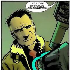 Gerald Crane dans les comics.