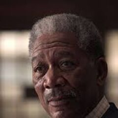 Morgan Freeman dans le film Batman : The Dark Knight