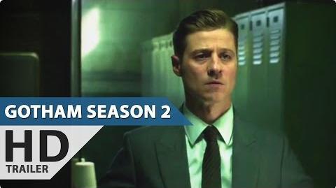 Gotham Season 2 - Teaser Trailer (2015) The Joker, Penguin-0