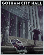 Gotham Season 5 City Hall Poster