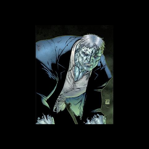 Grundy dans les comics