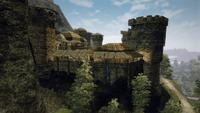 Faring (Gothic 3, widok z przełęczy)