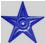Gwiazda-ciemnoniebieska