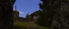 Mur Hemonii widok na przełęcz