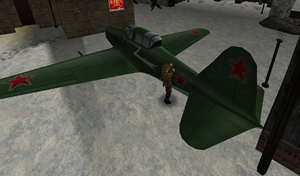 Gastiełło naprawia samolot