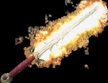 Ognisty miecz w Gothic 3