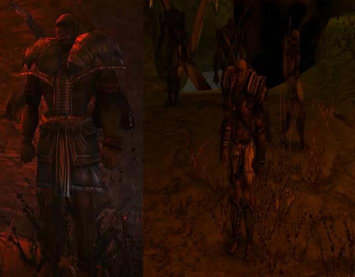 Terysoa ork szaman