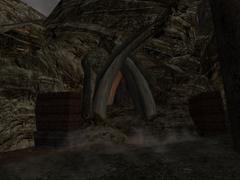 Returning zniszczone wejście do Świątyni Śniącego