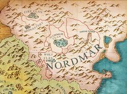 Nordmarské území
