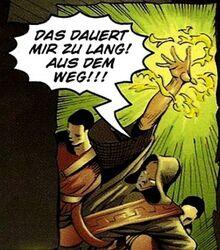 Drago rzucający czar (Der Comic)