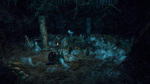 Jaskinia ożywieńców druga sala