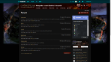 Gothicpedia Forum (Desktop)