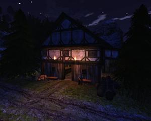 Gospoda pod Martwą Harpią (nocą) (by SpY)