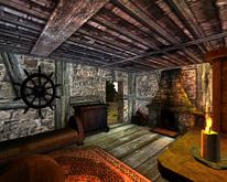 Farma Lobarta (dom Lobarta) (sypialnia 2) (by SpY)