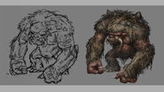 Troll (conceptart) (Arcania Gothic 4) (by SpY)