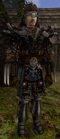 Ciężki pancerz łowcy smoków (Gothic II) (by Migulo)