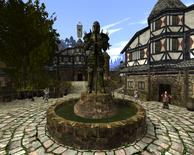 Posąg paladyna w Górnym Mieście (by SpY)