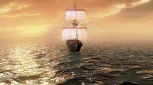 Esmeralda na morzu
