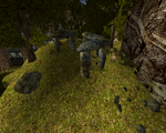 Kamienny krąg za farmą Lobarta (by SpY)