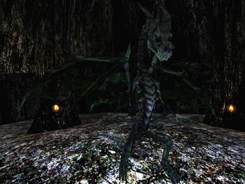 Smok Ożywieniec w podstawowej wersji Gothic II