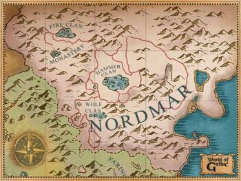 Białe góry Nordmaru.