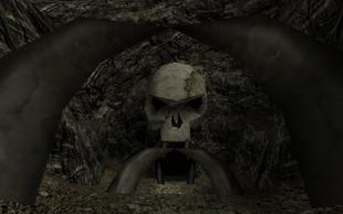 Wejście do Cmentarzyska Orków (Wasteland)