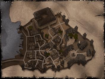 Mapa miasta Khorinis
