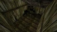 Magazyn portowy – pokój na piętrze 1