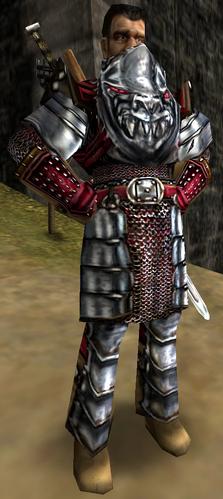 Thorus - przywódca strażników