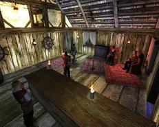 Czerwona Latarnia (wnętrze noc)