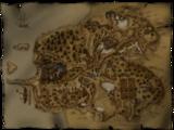 Mapa terenów Khorinis