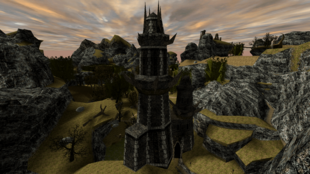 Wieża Xardasa w Dolinie (Gothic)
