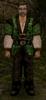 Zielone ubranie