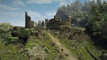 Montera (Gothic 3, zniszczone mury)