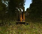 Posąg Innosa przed farmą Lobarta (by SpY)