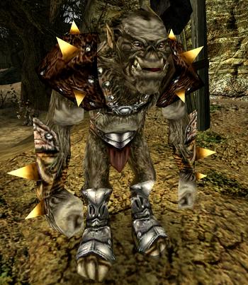 Bumshak jako wojownik