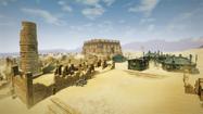 Widok na ruiny Al Shedim (by Kubar906)
