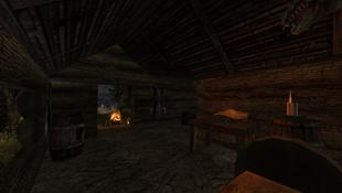 Chata eremity wnętrze
