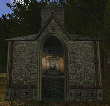 Kaplica na farmie Onara (by Wojciech Wawrzyńczak)