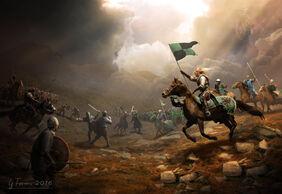 The battle by ferianimations-d9wj919