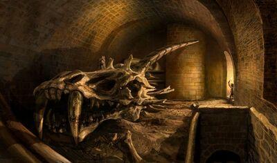 Red Keep Dragon Cellar by Kim Pope